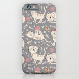 Kute Kitty Kats iPhone Case