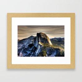 Glacier Point, October 2008 Framed Art Print