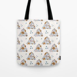 Deathly Hallows Print Tote Bag