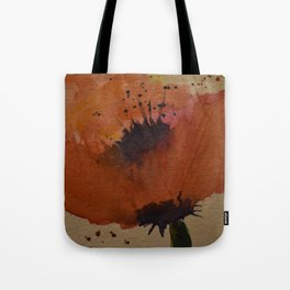 Waltz of the Poppies Tote Bag