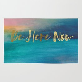 Be Here Now, Ocean Sunrise 4 Rug