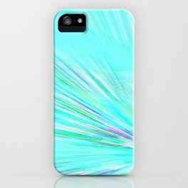 Re-Created Rapture 7 by Robert S. Lee iPhone Case