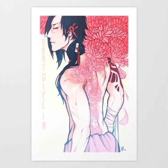 B L O O M Art Print
