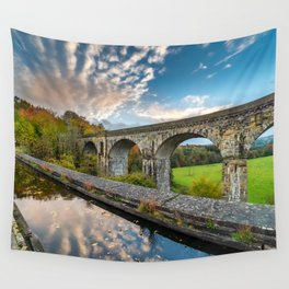 Chirk Aqueduct And Viaduct Wall Tapestry