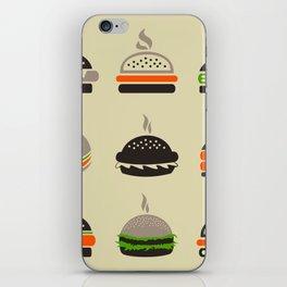 Hamburger2 iPhone Skin