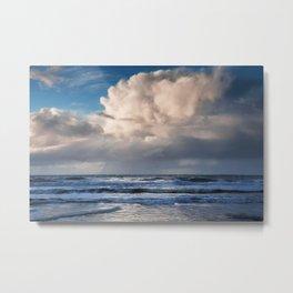 Pacific Rain Cloud  Metal Print
