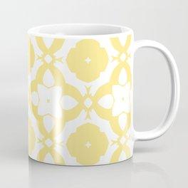 HELLO YELLOW - DAMARIS MORROCCAN PATTERN by MS Coffee Mug