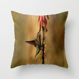 One Moment At Time Throw Pillow