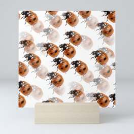 Ladybirds  Mini Art Print