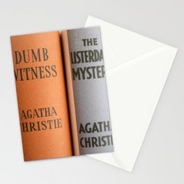 Dumb Witness Stationery Cards