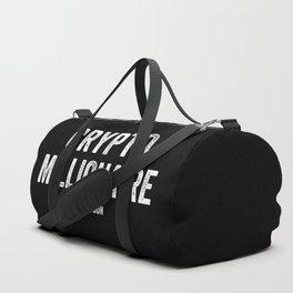 Millionaire Bitcoin Duffle Bag