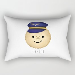 Pie-lot Rectangular Pillow