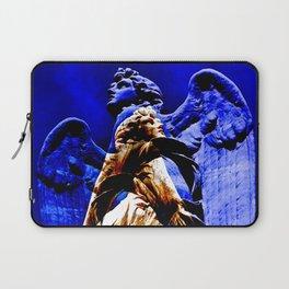 Blue Angel Wings Laptop Sleeve