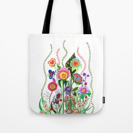 FLOWERS IN MEXICO Tote Bag