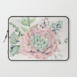 Perfect Pink Succulent Laptop Sleeve
