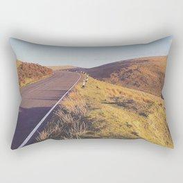 Mountain Road, TT Isle of Man. Rectangular Pillow