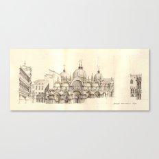 Piazza San Marco, Venice Canvas Print