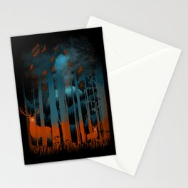NIGHT NEGATIVITY Stationery Cards