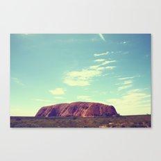 Ayes Rock - Australia Canvas Print