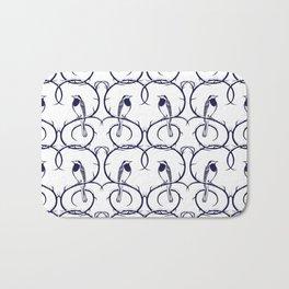 Love Birds Pattern Bath Mat
