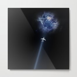 fly to nowhere Metal Print