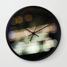 NYC Bokeh Wall Clock