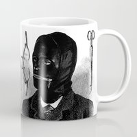 bdsm Mugs featuring BDSM I by DIVIDUS DESIGN STUDIO
