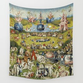 THE GARDEN OF EARTHLY DELIGHT - HEIRONYMUS BOSCH Wall Tapestry