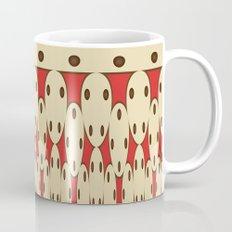 Brown dots Mug