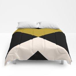Minimal X Dark Olive Comforters