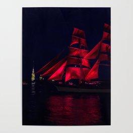 Scarlet Sails Poster