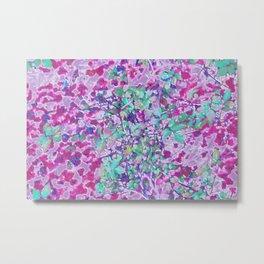Pink Ivy Metal Print