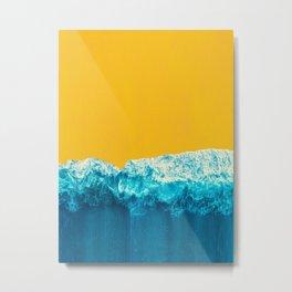 Yellow Tide Metal Print