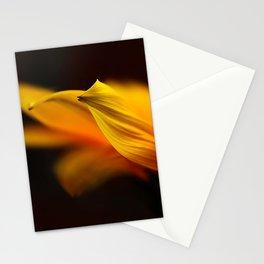 flower orange Stationery Cards