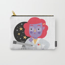 Vera the Scientist Carry-All Pouch