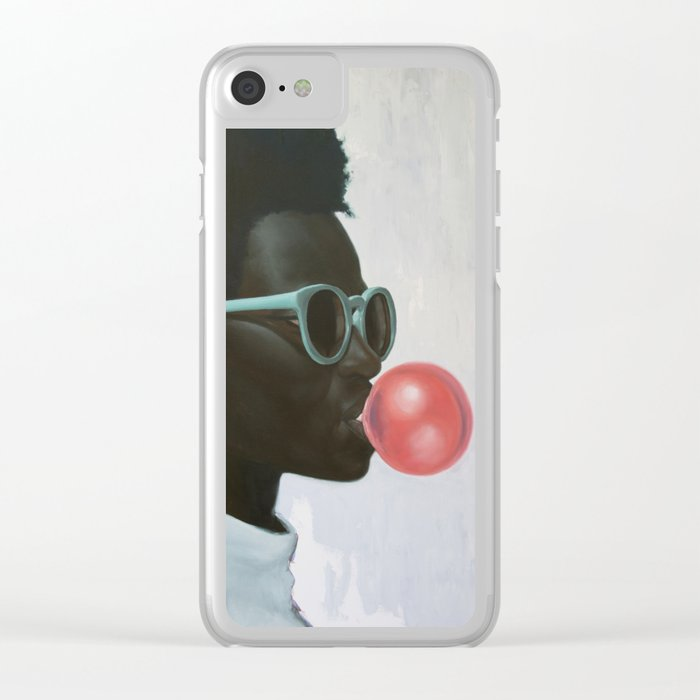 How far is a light year? Clear iPhone Case