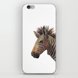 Zebra Drawing iPhone Skin