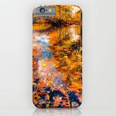 Boston Fall Foliage Reflection iPhone 6s Slim Case