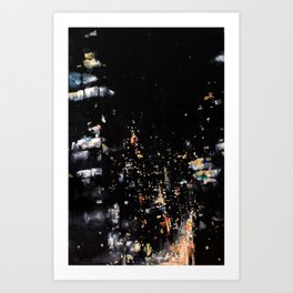Suspended Mid-Air on the Roosevelt Island Tramway Art Print
