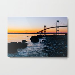 The Coast is Clear Metal Print