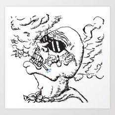 Our Hero, Former Smoker Art Print