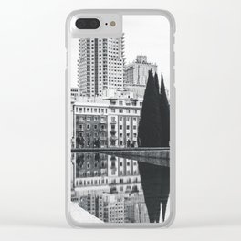Temple of Debod Clear iPhone Case