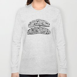2 pieces of toast Long Sleeve T-shirt