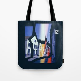 Deconstructed City #1 Tote Bag