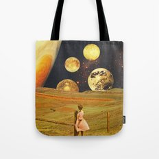 Jupiter field Tote Bag