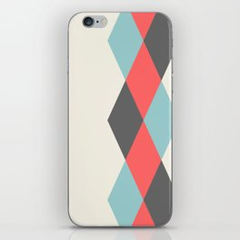Weaving Diamonds iPhone Skin