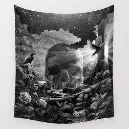 XIII. Death & Rebirth Tarot Card Illustration (Alternative Version) Wall Tapestry