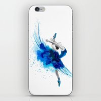 ballet iPhone & iPod Skins featuring Ballet  by Zdenka Koskova