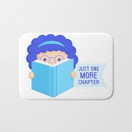 Just One More Chapter Bath Mat