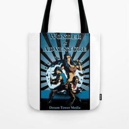 Wonder And Adventure: Dream Tower Media, Rogues of Merth Tote Bag